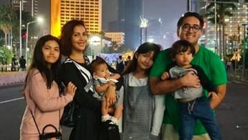 Keseruan Nadia Mulya Mengurus 4 Anak Tanpa Bantuan Baby Sitter