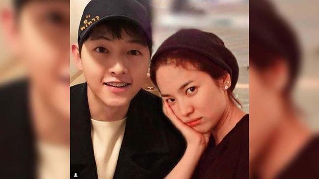Sebelum gugatan cerai, pasangan Song Joong Ki dan Song Hye Kyo sering membagikan kebersamaan mereka di Instagram.