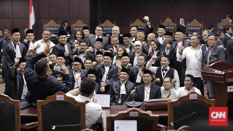 FOTO: Respons Kubu Jokowi-Prabowo atas Putusan MK