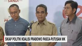 VIDEO: Sikap Politik Koalisi Prabowo Pasca-Putusan MK