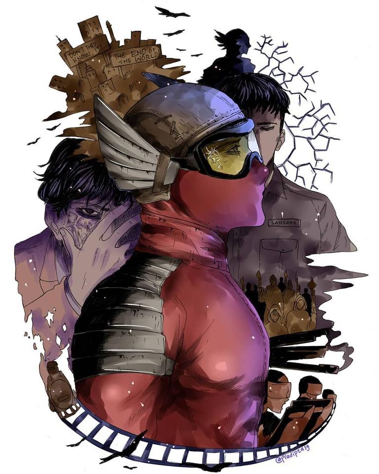 Gundala sendiri adalah tokoh komik ciptaan Hasmi yang muncul pertama kali dalam komik yang bertajuk Gundala Putra Petir.