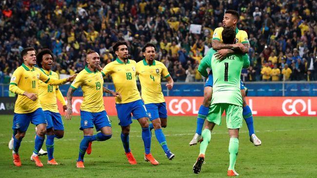Final kepagian akan tersaji saat timnas Brasil bersua timnas Argentina pada semifinal Copa America 2019 di Stadion Mineirao, Selasa (2/7) waktu setempat.