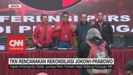 VIDEO: TKN Rencanakan Rekonsiliasi Jokowi-Prabowo