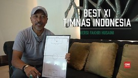 VIDEO: Best XI Timnas Indonesia Versi Fakhri Husaini