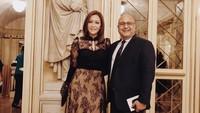 <p>Penampilan Maia dan Irwan saat menghadiri pertunjukan Vienna Philharmonic Orchestra, yang dengan konduktor penyanyi seriosa legendaris Plácido Domingo. (Foto: Instagram @maiaestiantyreal)</p>