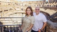<p>Maia pun berkesempatan mampir ke Ibu Kota Roma, yang belum pernah dikunjunginya sebelumnya. (Foto: Instagram @maiaestiantyreal)</p>