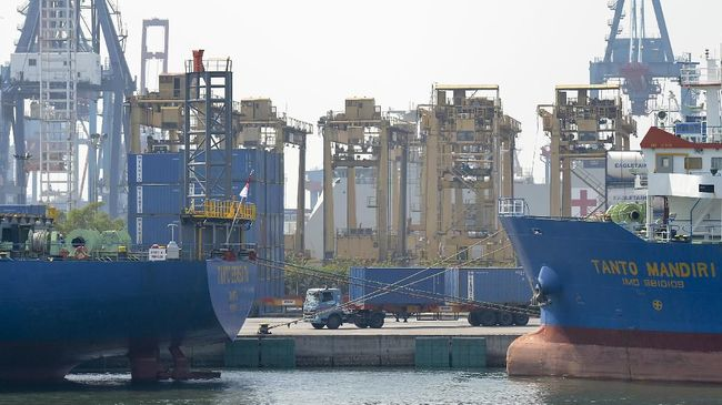 BPS mencatat neraca perdagangan Indonesia sepanjang 2019 defisit US$3,2 miliar.
