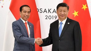 Jokowi Dikabarkan Ajak Xi Jinping Uji Coba Kereta Cepat 2022