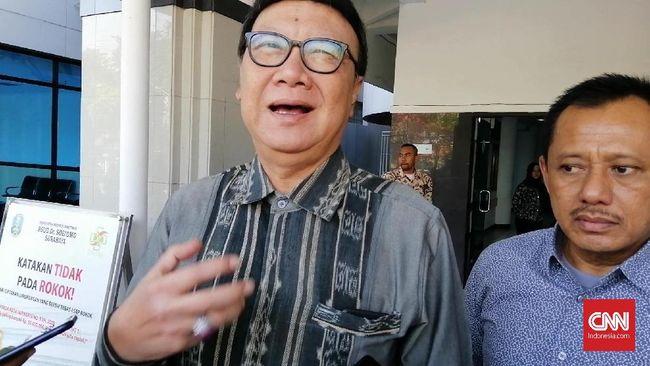 Mendagri Tjahjo Kumolo mengusulkan agar DPR mengadakan rapat khusus untuk membahas UU Pilkada dan UU Pemilu yang dianggap tumpang tindih.