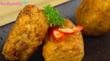 Resep Perkedel Ikan Isi Keju, Kreasi Seafood dengan Rasa Yummy