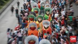 FOTO: Wajah Baru Jakarta dalam Kemeriahan Jakarnaval