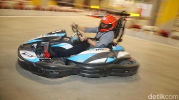 Balapan Seru Formula Kart di Trans Studio Jakarta di Cibubur