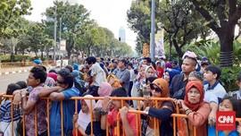 Jakarnaval, Ribuan Warga Sudah Padati Halaman Balai Kota DKI