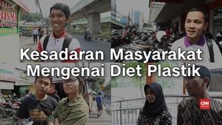 VIDEO: Menakar Kesadaran Masyarakat Mengenai 'Diet' Plastik