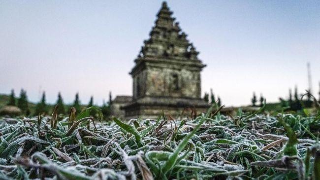 BMKG memaparkan wilayah yang kemungkinan mengalami suhu dingin ekstrem di malam hari akibat musim kemarau seperti Dieng.