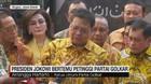 VIDEO: Presiden Jokowi Bertemu Petinggi Partai Golkar