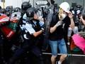 Demo di Hong Kong Kembali Ricuh, Enam Orang Ditahan
