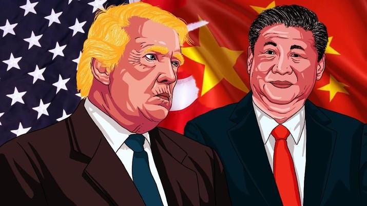 Perang Dagang, Trump Pastikan Negosiasi September Tetap Jalan - Rifan Financindo