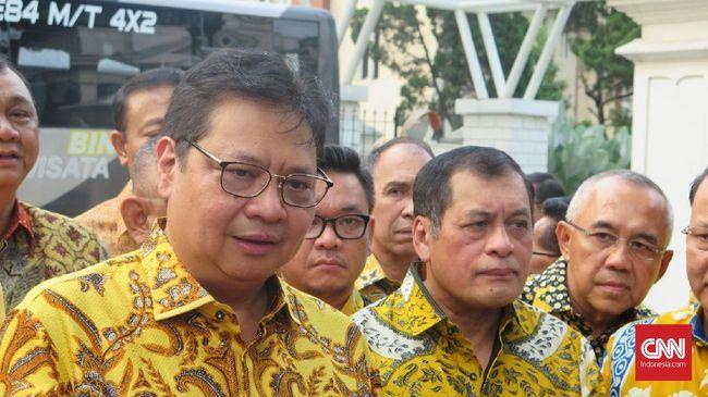 Ketua Umum Golkar Airlangga Hartarto memastikan pertemuan dengan sejumlah partai untuk silahturahmi.