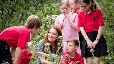 Kate Middleton Rasakan Betul Manfaat Ajak Anak Bermain di Alam