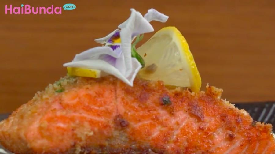 Resep Salmon Keju, Berbalut Krim Lumer Nikmat di Mulut