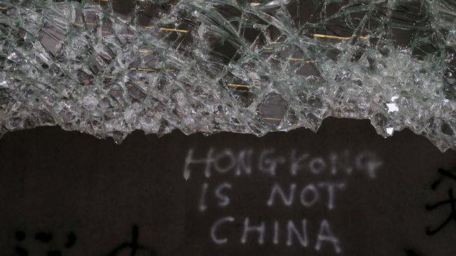 Unjuk Rasa Anti Pemerintah Kembali Terjadi di Hong Kong
