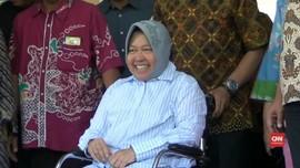 VIDEO: Sembuh, Wali Kota Surabaya Pulang dari Rumah Sakit