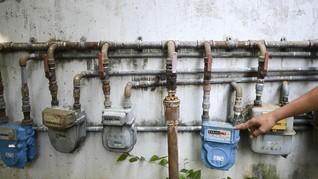 Realisasi Jaringan Gas Rumah Tangga Tak Sampai 1 Persen
