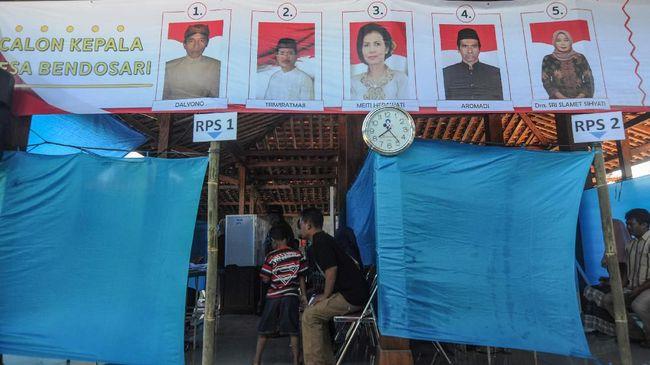 Kemendagri memastikan suami dan istri bersaing dalam pemilihan kepala desa (pilkades) Tangerang tidak melanggar undang-undang.