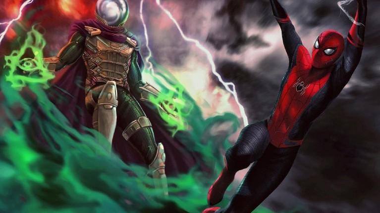 Meski tak memiliki kemampuan, Mysterio mampu memblokir indera laba-laba yang dimiliki SpiderMan. Tentu hal itu menjadi masalah tersendiri bagi Peter Parker. Sehingga ia harus menggunakan insting dan kecerdasannya untuk melawan musuh.