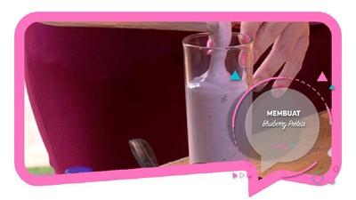 Protein Bluberi, Minuman Diet untuk Bunda Nggak Suka Susu