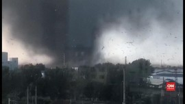 VIDEO: Tornado Sapu China, Enam Orang Tewas