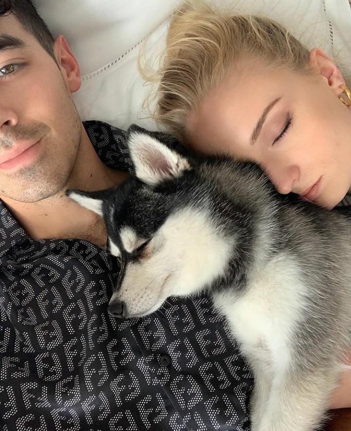 Intip romantisme pasangan suami-istri, Joe Jonas dan Sophie Turner di galeri foto berikut, Bun.
