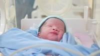 <p>Ratna Galih Galih baru saja melahirkan anak keempat dan kelima yang berjenis laki-laki dan perempuan. Keduanya dinamai Shelma Aisyah Sawkani dan Shaldy Ararya Sawkani. (Foto: by bukaanmomen via Instagram @ratnagalih)</p>
