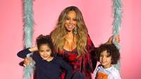 <p>Mariah Carey juga memiliki anak kembar sepasang pada tahun 2011. Keduanya diberi nama Monroe Cannon dan Maroccan Scott Canon. (Instagram @mariahcarey)</p>