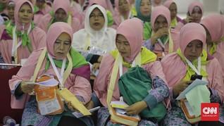 Pendaftar Ibadah Haji Indonesia Turun Hingga 50 Persen