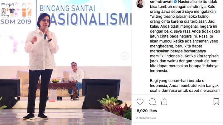 Viral! Sri Mulyani Sebut Mahasiswa STAN Kurang Toleran
