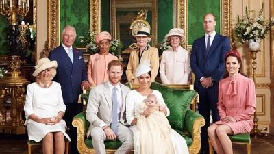 Menggemaskan! Foto Terbaru Anak Meghan Markle dan Pangeran Harry