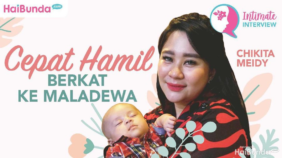 Simak Intimate Interview Chikita Meidy: Cepat Hamil Usai Honeymoon