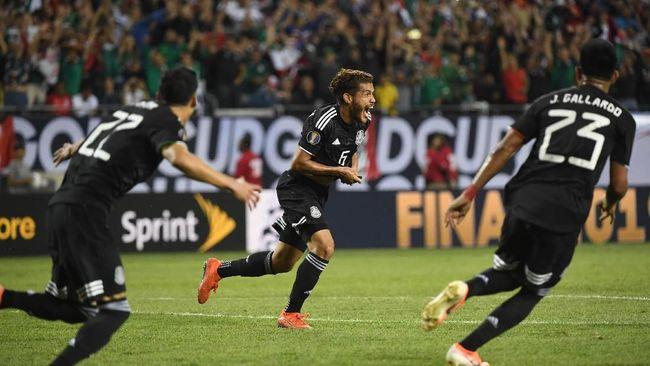 Timnas Meksiko keluar sebagai juara Piala Emas 2019 setelah mengalahkan timnas Amerika Serikat 1-0 pada final di Stadion Soldier Field, Chicago, Senin (8/7).