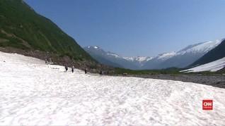 VIDEO: Suhu Alaska Capai 32 Derajat Celsius