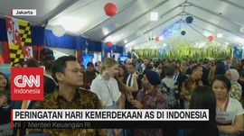 VIDEO: Independence Day Usa di Jakarta