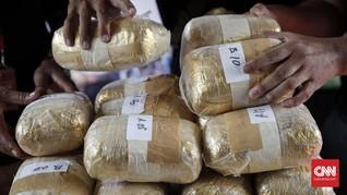 Polisi Tangkap WN Pakistan Diduga Pemilik 821 Kg Sabu