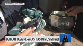 VIDEO: Berkah Jasa Reparasi Tas di Musim Haji