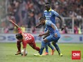 Babak Pertama Liga 1: Persib vs Persija Tanpa Gol