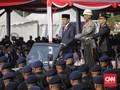 HUT Bhayangkara ke-74, Jokowi Pimpin Upacara via Online