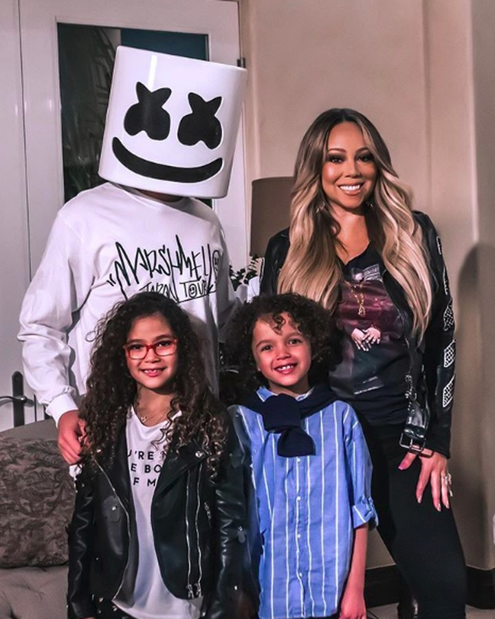 Lihat momen manis diva Mariah Carey bersama anak kembarnya, Roc dan Roe.