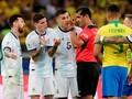 Wasit Brasil vs Argentina Kaget Dengar Tuduhan Messi