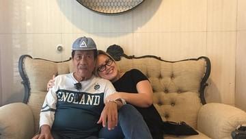 Duka Cynthia Lamusu Ditinggal Pergi Sang Ayah untuk Selamanya