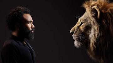 Reaksi Lucu Anak Donald Glover Saat Diajak Nonton 'The Lion King'
